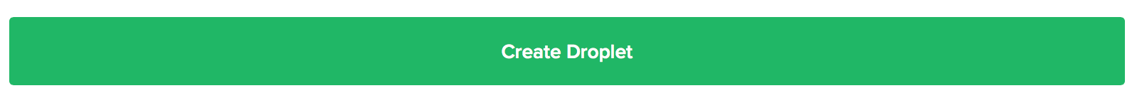 Press 'Create Droplet' to create your Owncloud instance