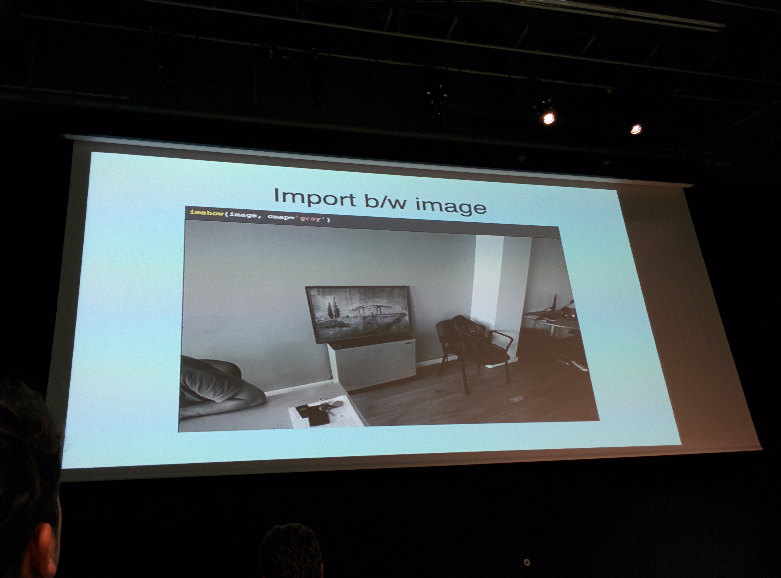 OpenCV detecting in B/W